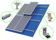 HDG Solar Panel Roof Mounting Systems Customized Color Stainless Steel 304 Home Building