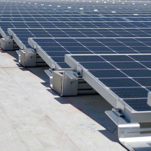 3KW 5KW 10KW Solar Power Roof Systems , Industrial Flat Roof Solar Mounting System